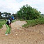 Fotografía del vídeo golf online sobre el bunker