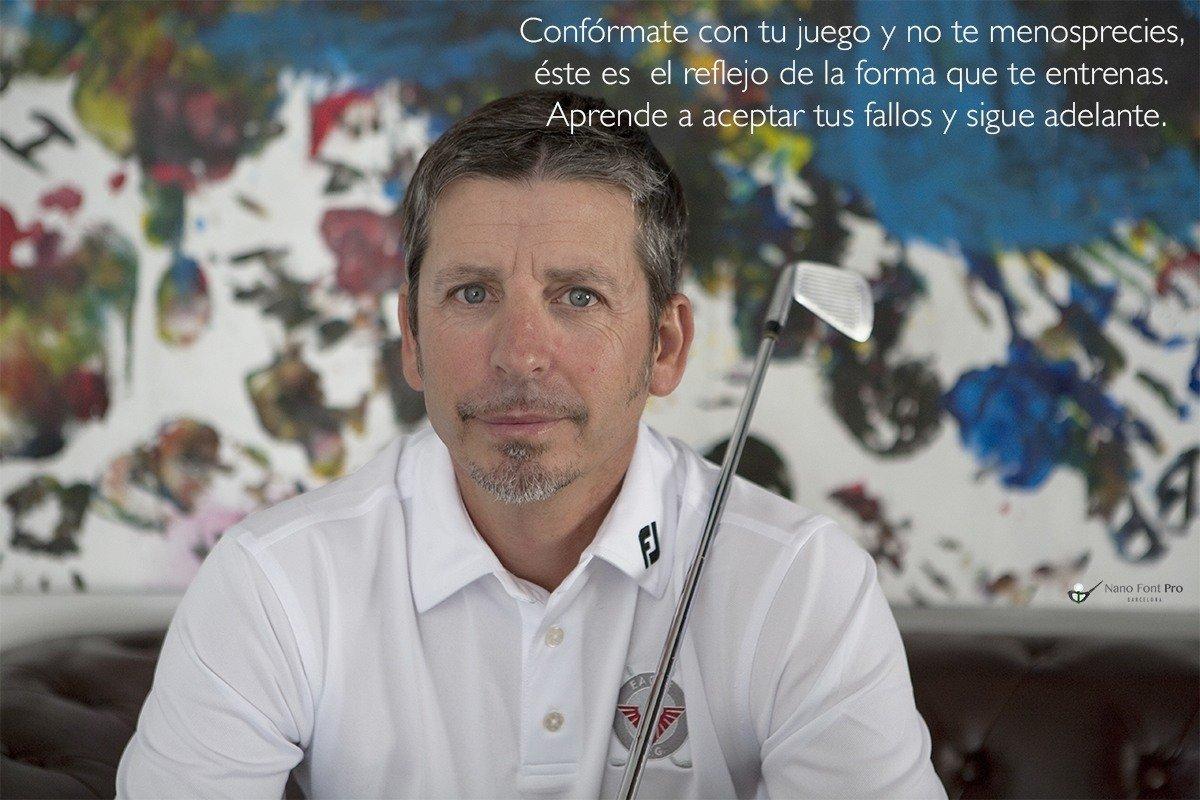 Frase de golf motivadora