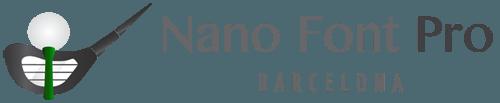 NanoFontPro profesional y maestro de golf